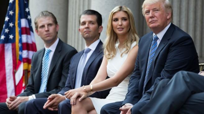 Donald Trump, Eric Trump, Donald Trump Jr., Ivanka Trump