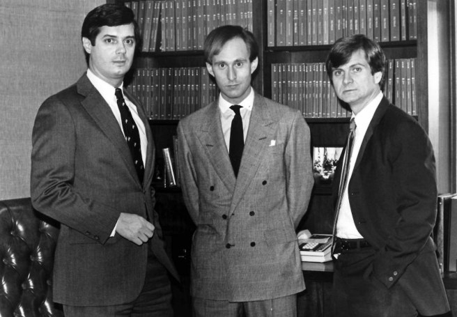 Paul Manafort, Roger Stone and Lee Atwate