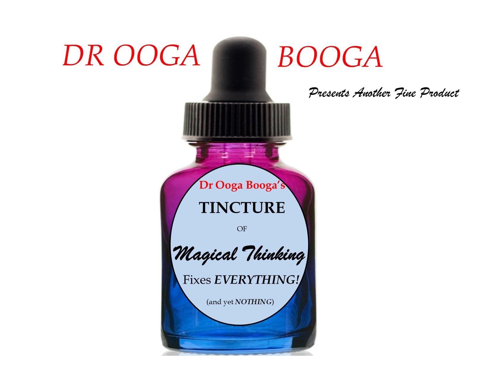Dr Ooga Booga's Tincture Bottle